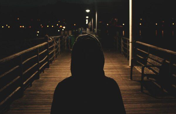 black man hoodie